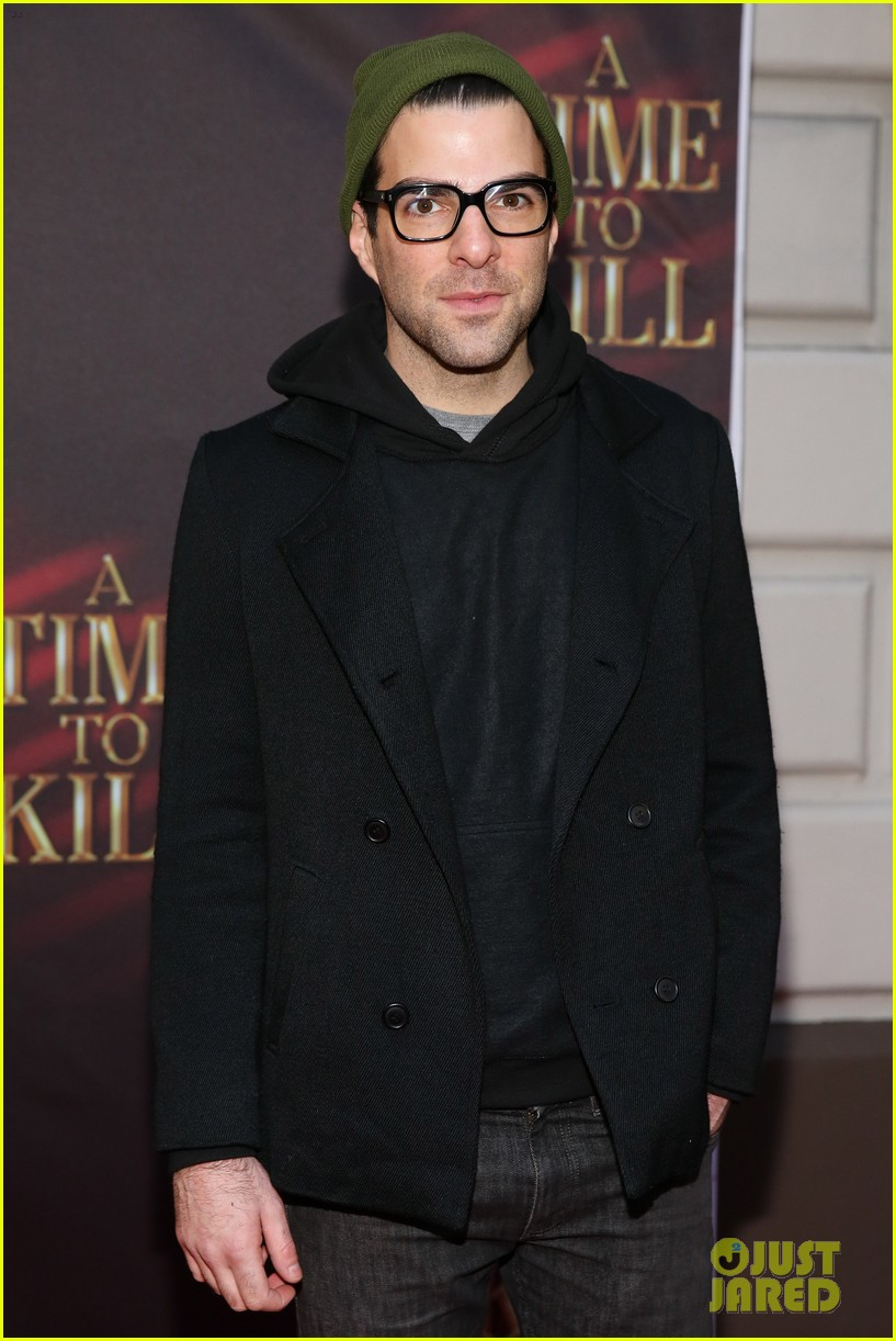 zachary quinto bobby cannavale a time to kill broadway opening 072975743