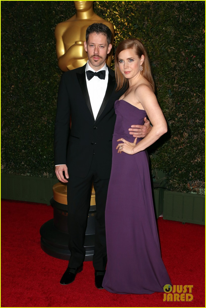 amy adams governors awards 2013 with darren le gallo 012994578