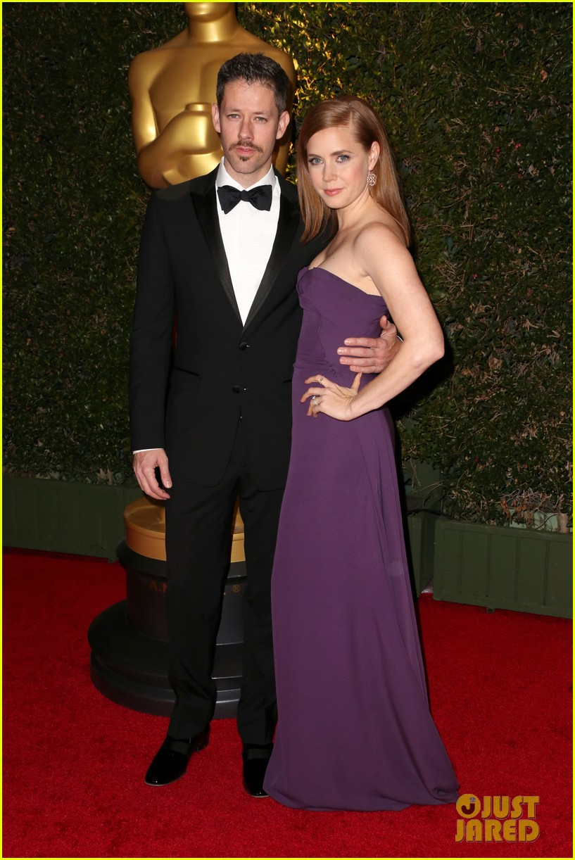amy adams governors awards 2013 with darren le gallo 042994581