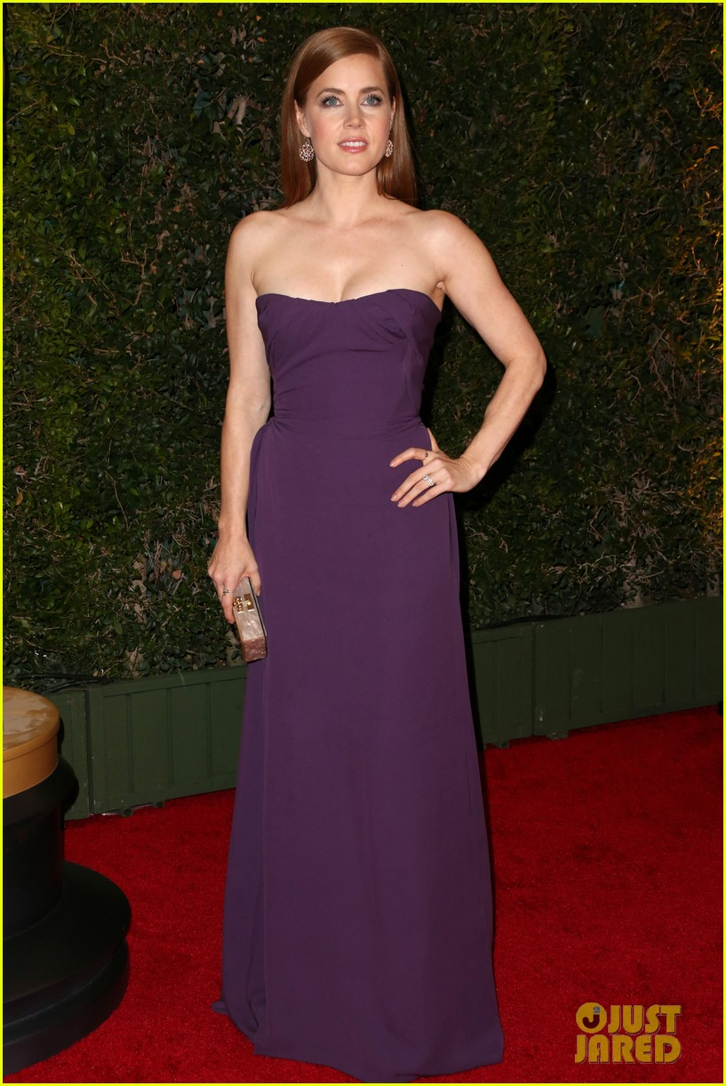 amy adams governors awards 2013 with darren le gallo 072994584
