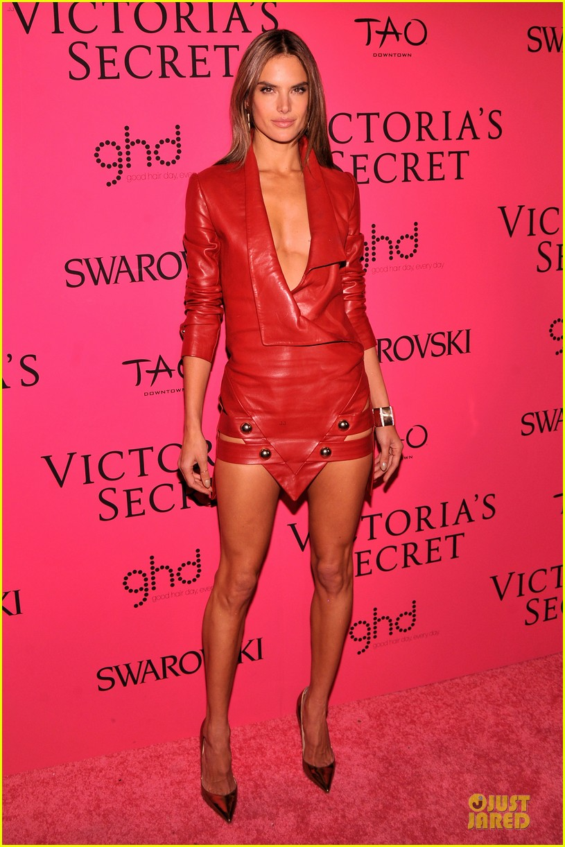 alessandra ambrosio candice swanepoel victorias secret fashion show after party 112992468