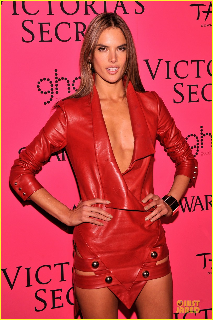 alessandra ambrosio candice swanepoel victorias secret fashion show after party 122992469