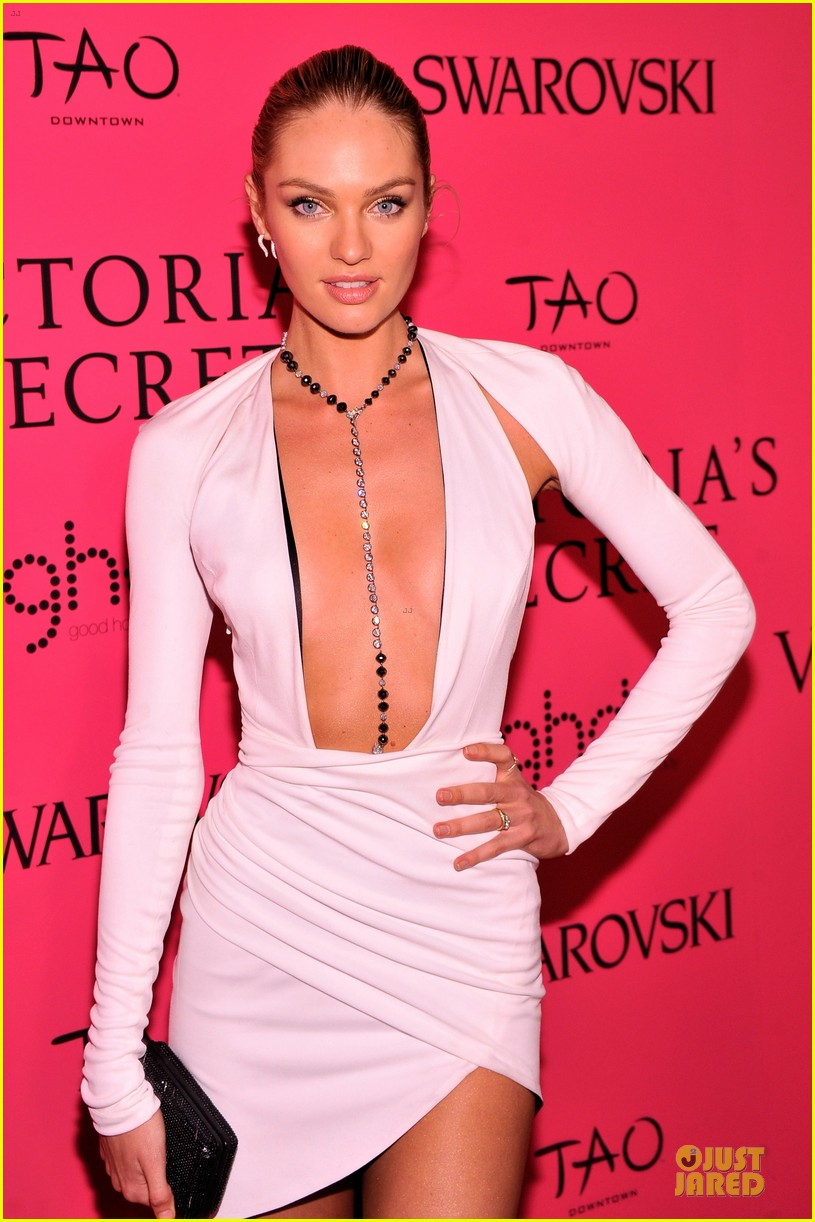 alessandra ambrosio candice swanepoel victorias secret fashion show after party 14