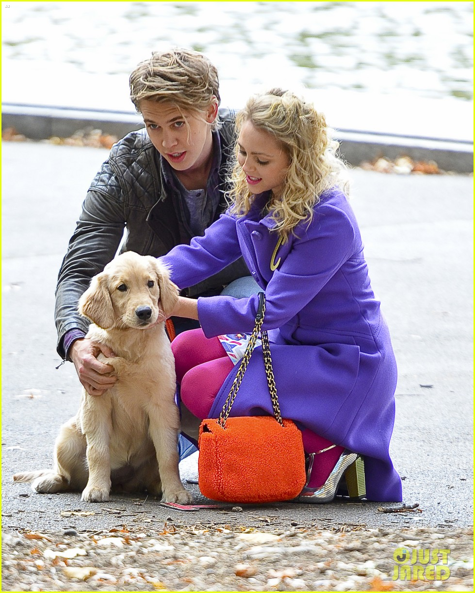 annasophia robb austin butler puppy carrie diaries 022987935