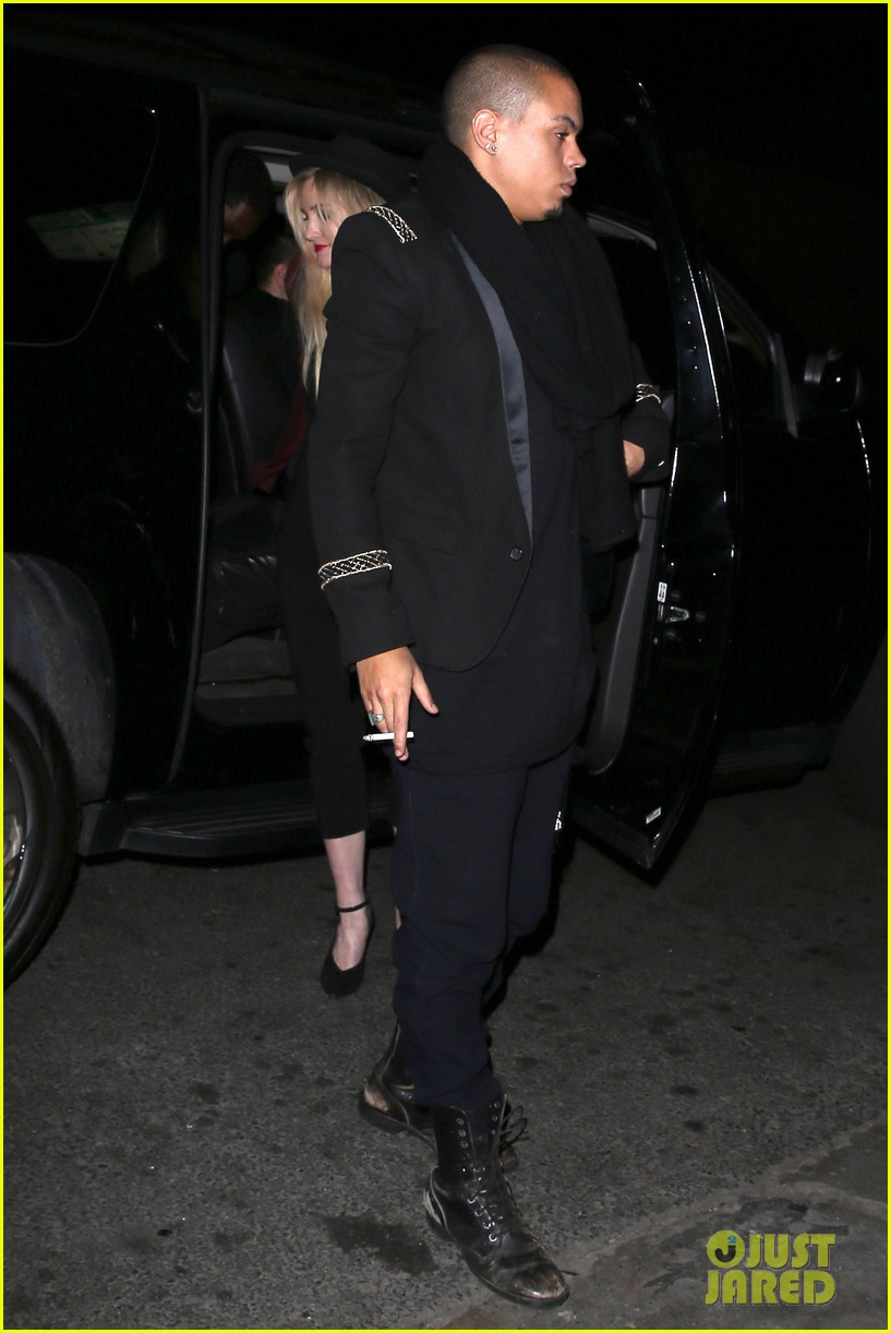 ashlee simpson evan ross hollywood date night 05