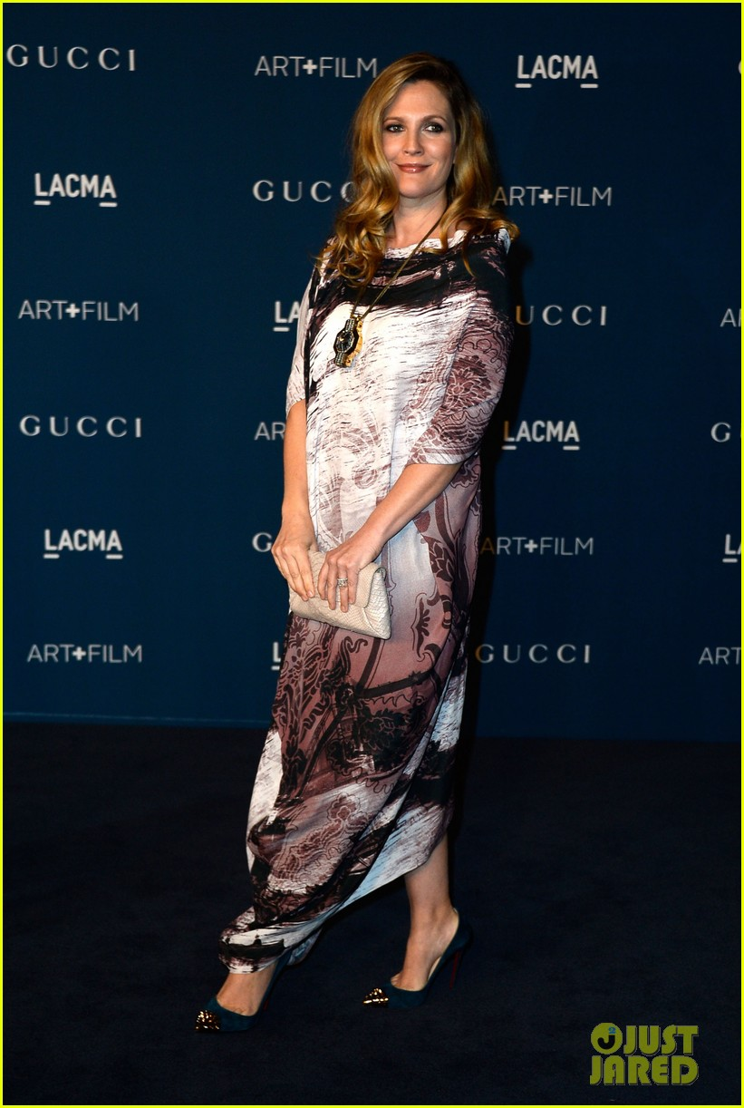 drew barrymore dakota johnson lacma art film gala 302985403