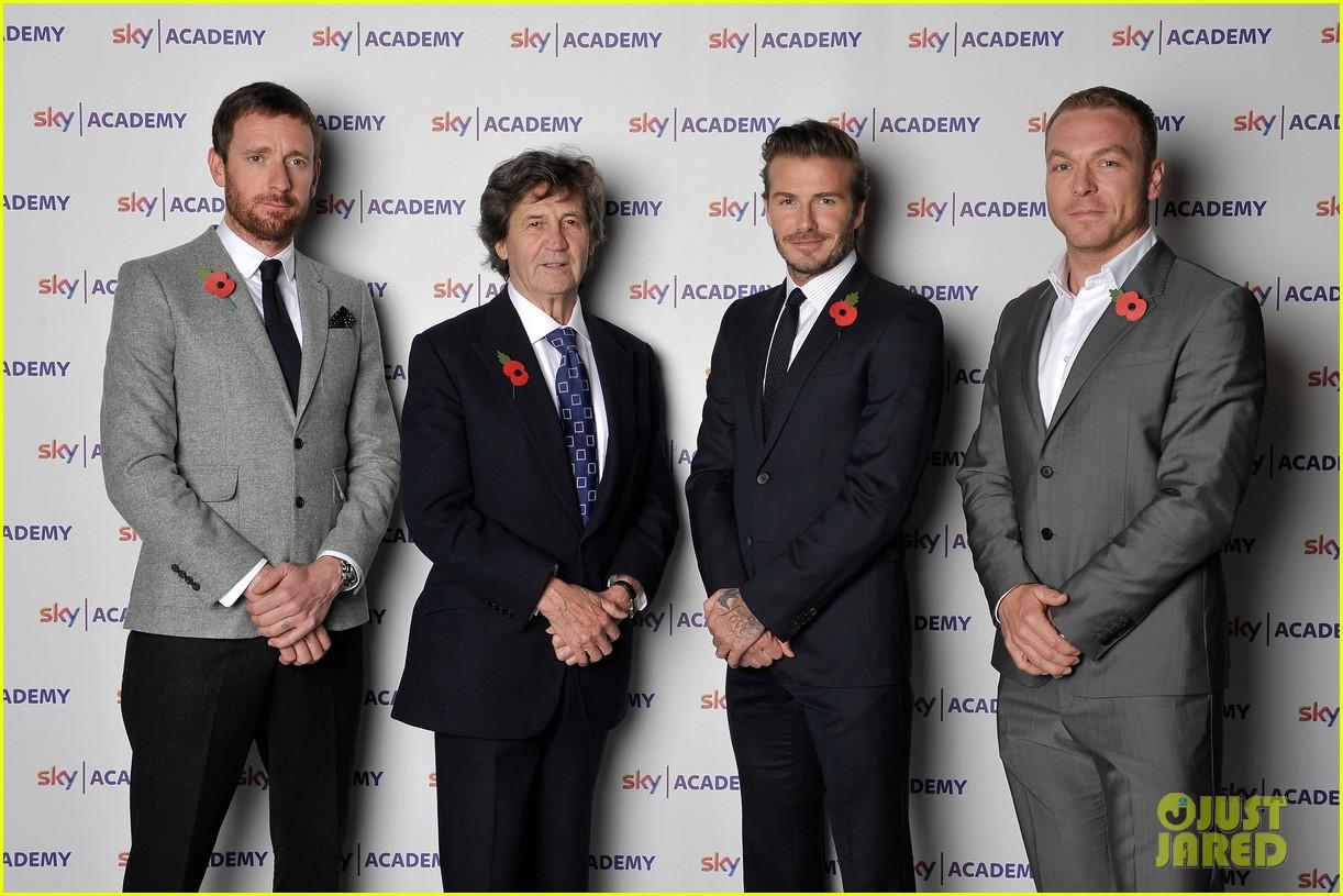 david beckham sky academy launch 042986576