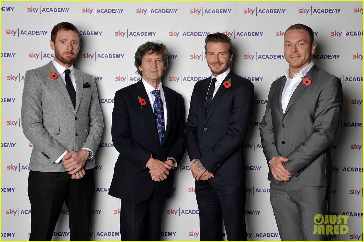 david beckham sky academy launch 062986578