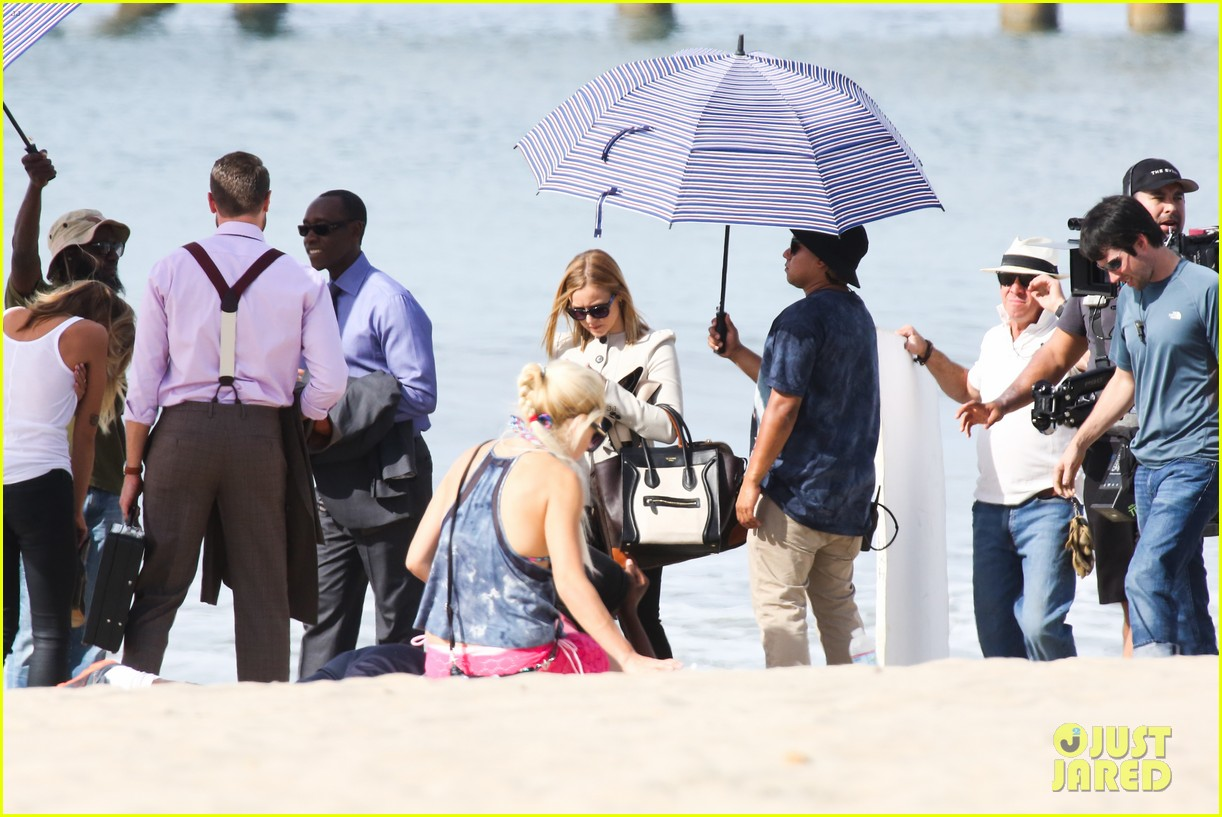 kristen bell house of cards beach filming 272988006