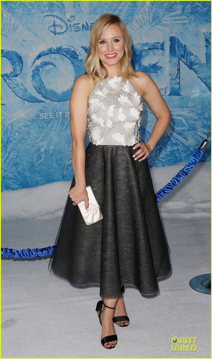 kristen bell demi lovato frozen hollywood premiere 252996306