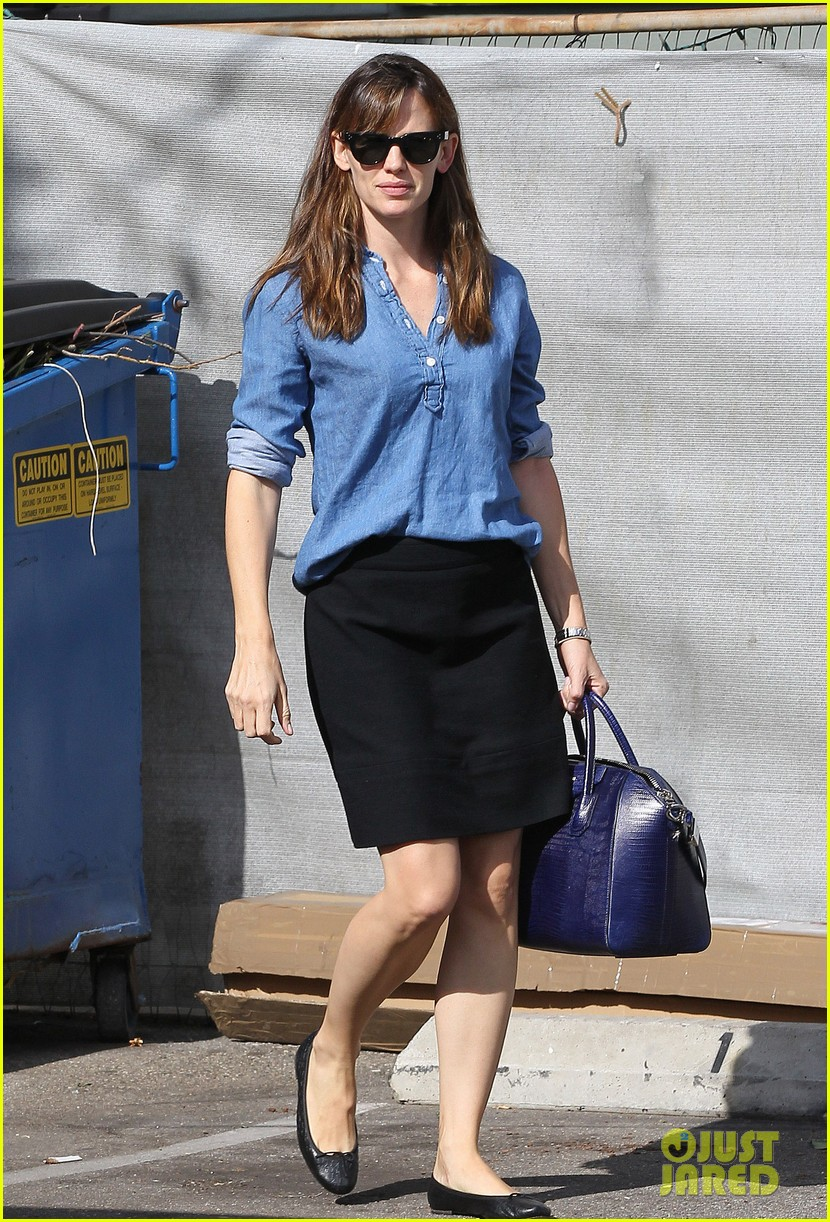 ben affleck jennifer garner busy sunday santa monica 012994938