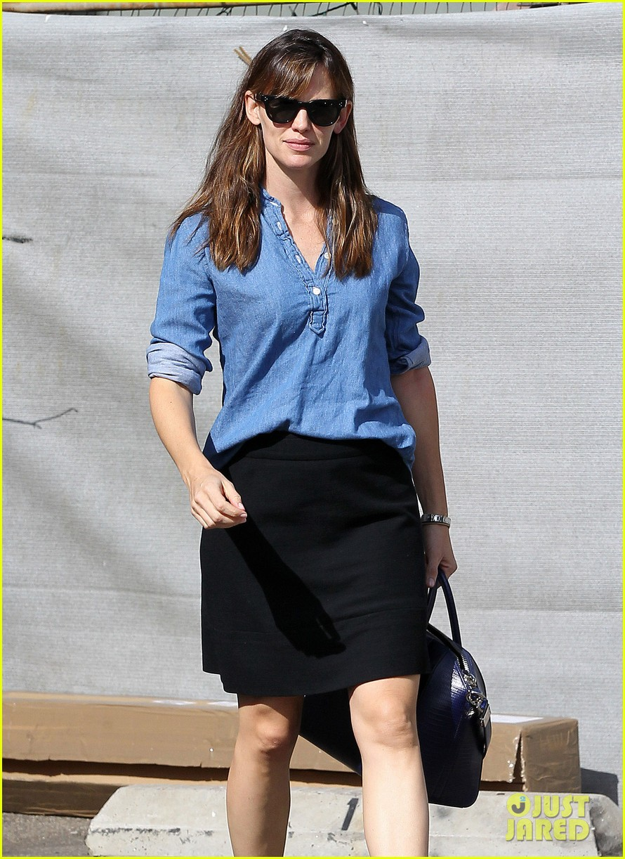ben affleck jennifer garner busy sunday santa monica 072994944