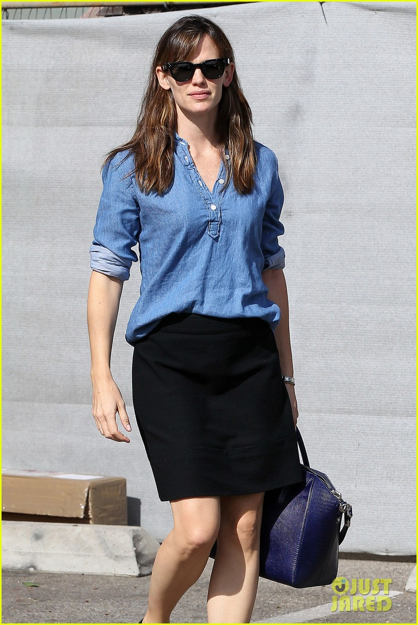 ben affleck jennifer garner busy sunday santa monica 10