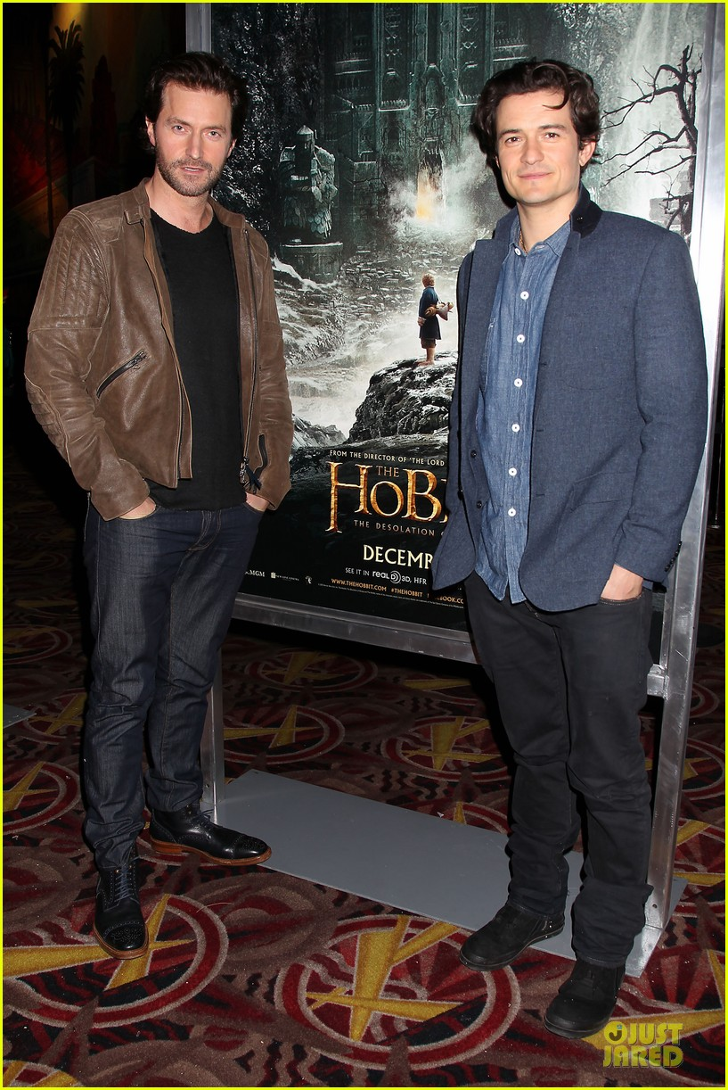 orlando bloom hobbit the desolation of smaug fan screening 082986165