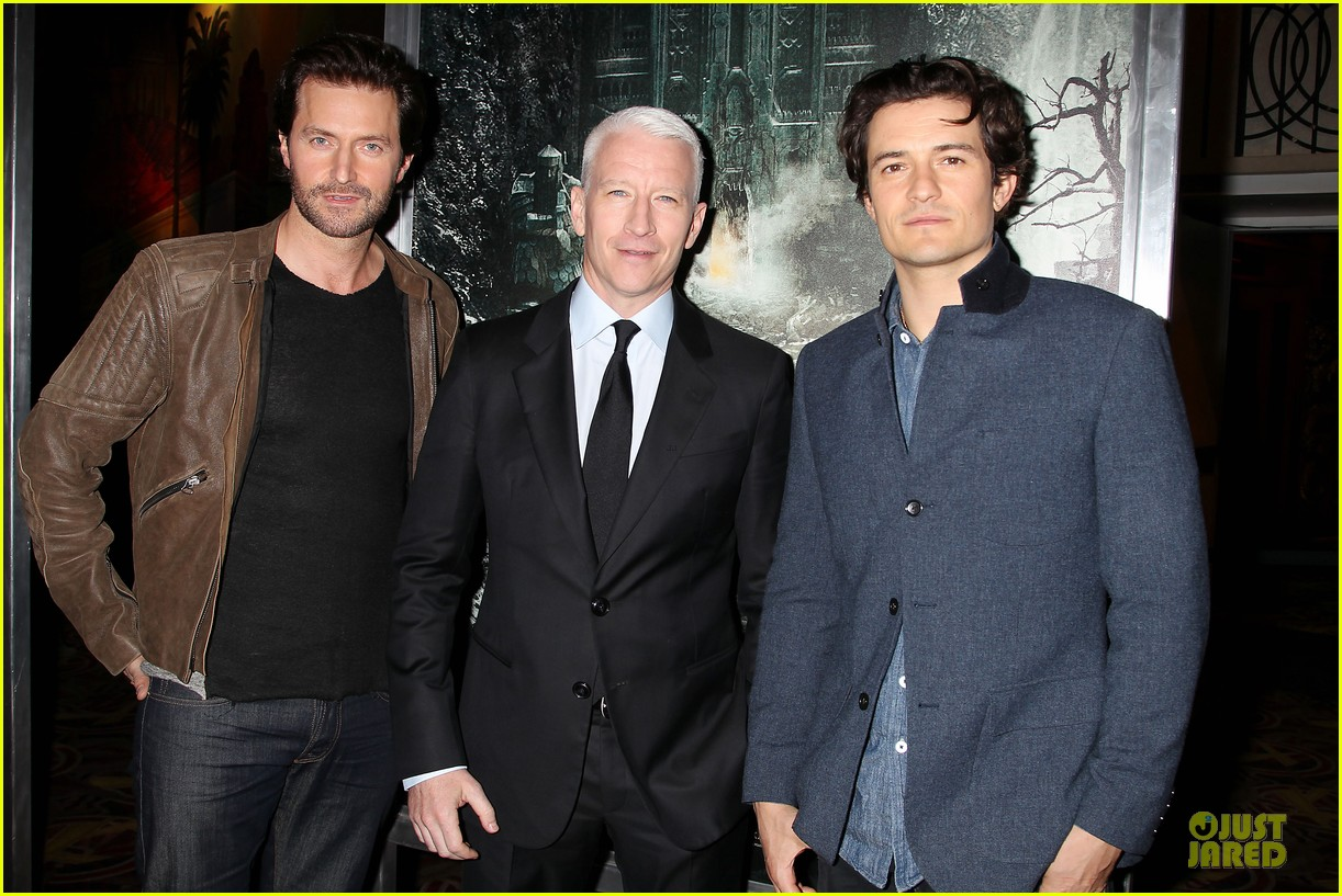 orlando bloom hobbit the desolation of smaug fan screening 092986166
