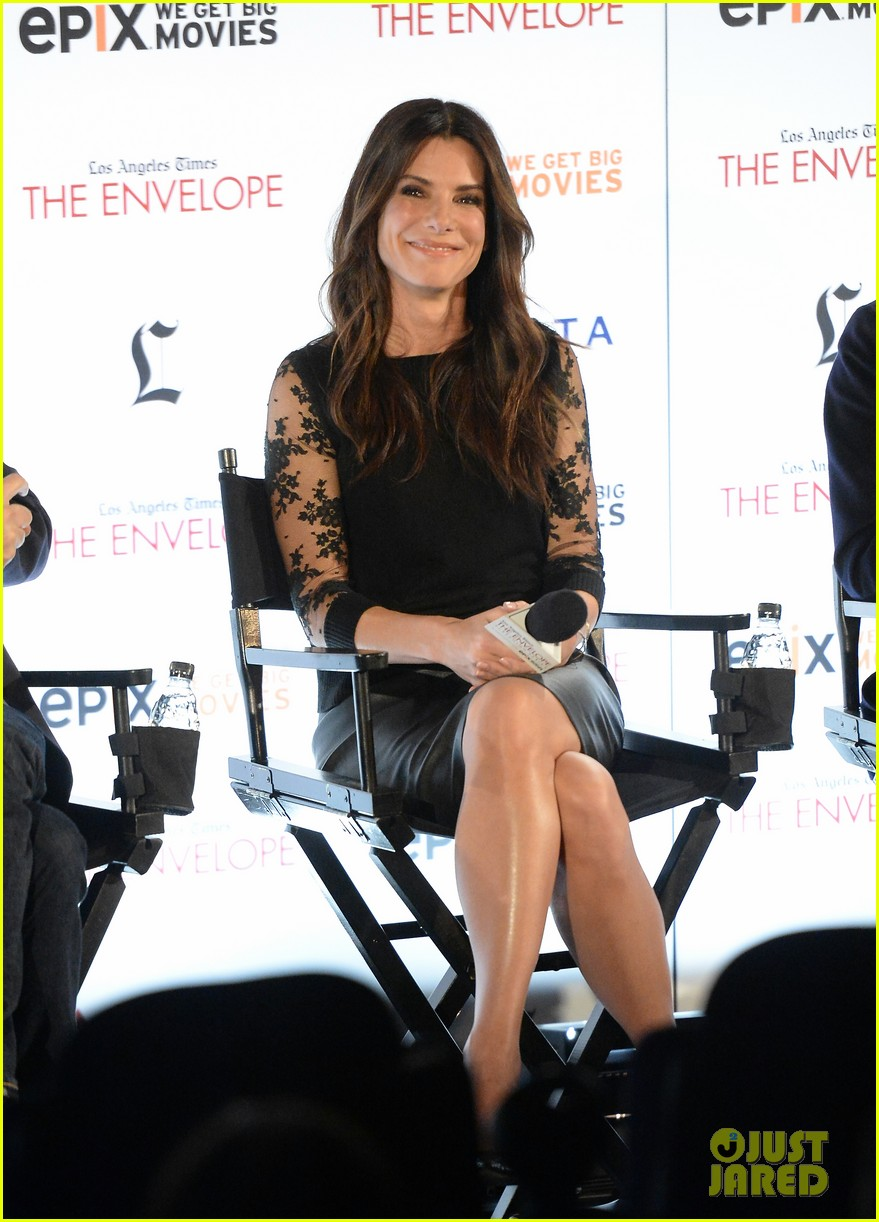 sandra bullock la envelope screening series of gravity 08