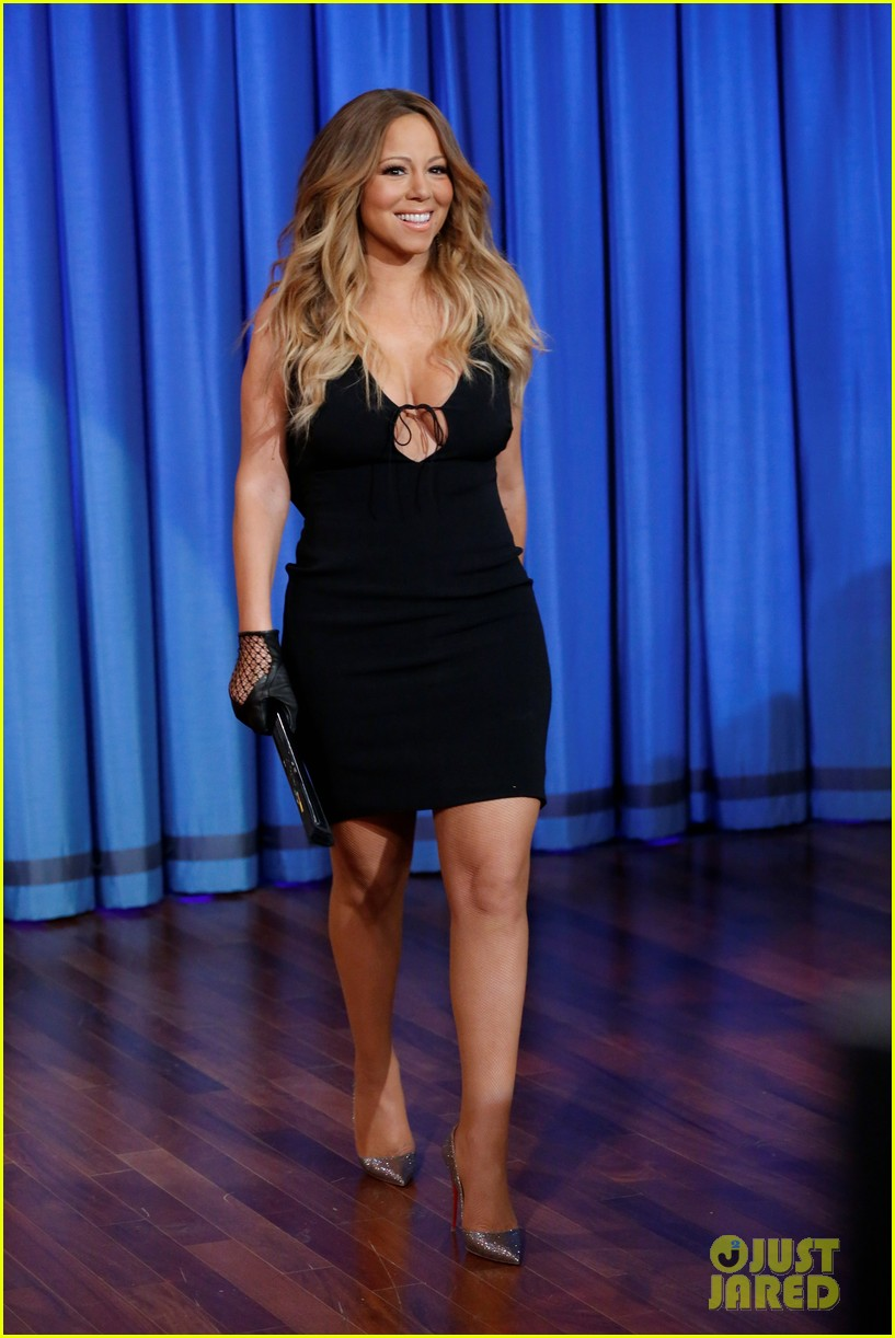 mariah carey promotes art of letting go on jimmy fallon 012991237