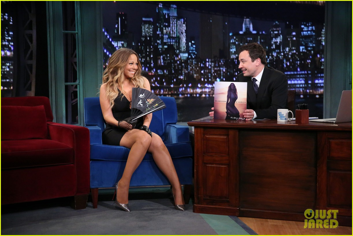 mariah carey promotes art of letting go on jimmy fallon 032991239