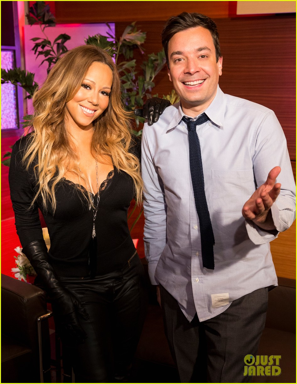 mariah carey promotes art of letting go on jimmy fallon 042991240
