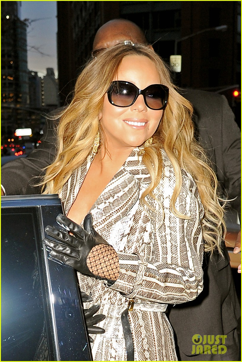 mariah carey promotes art of letting go on jimmy fallon 102991246