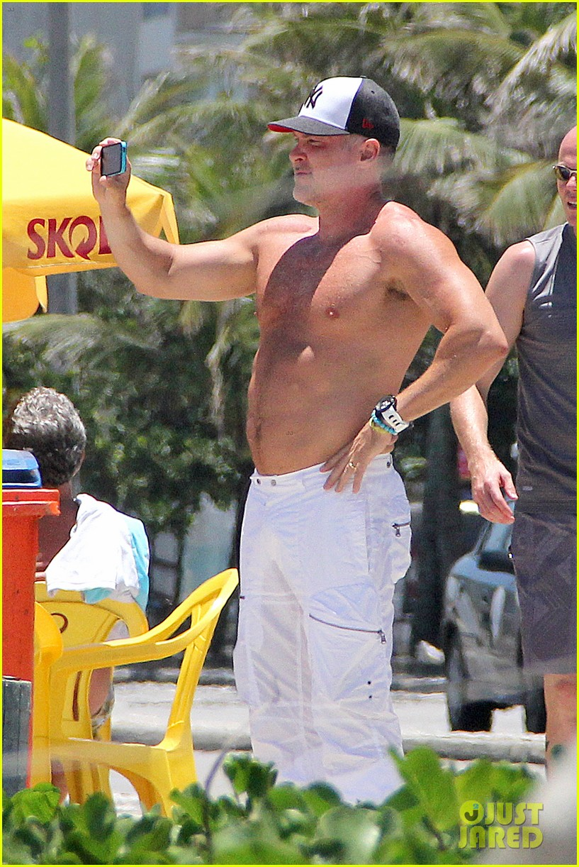 gma sam champion continues shirtless honeymoon 03
