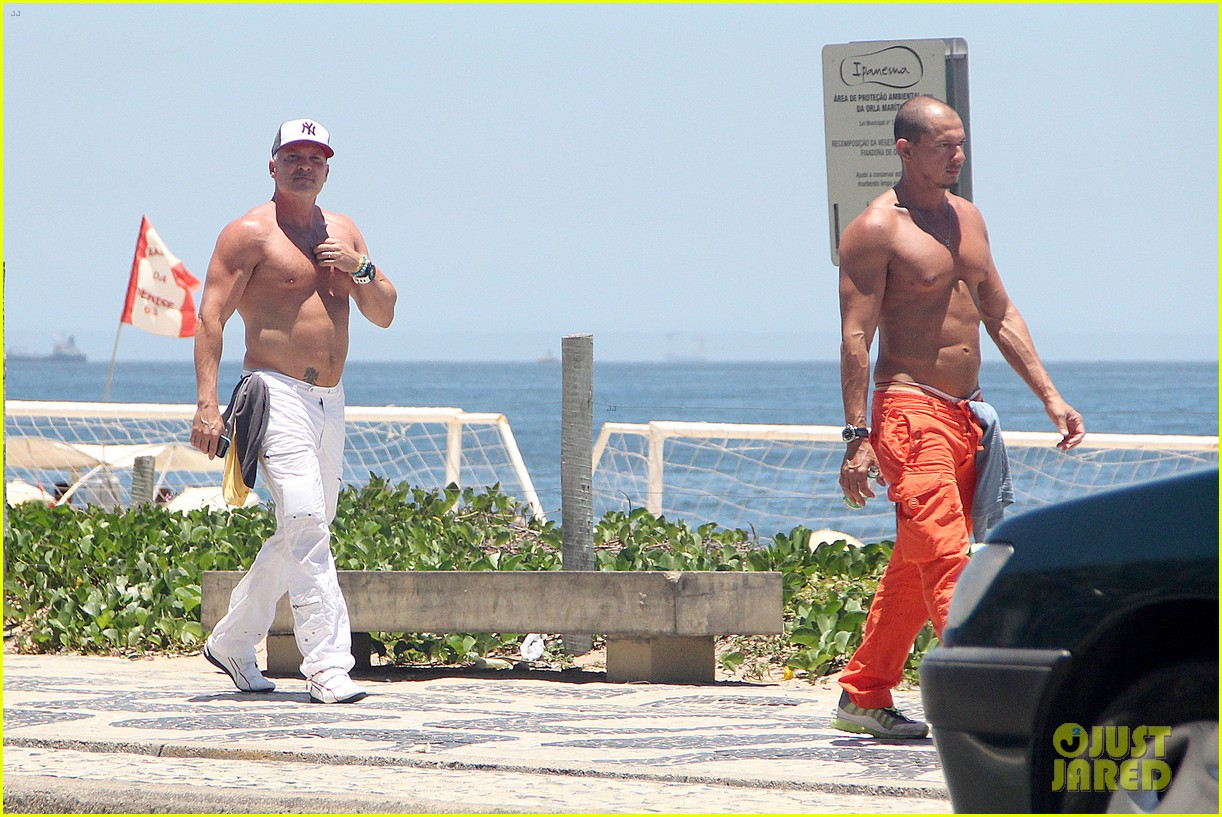 gma sam champion continues shirtless honeymoon 11