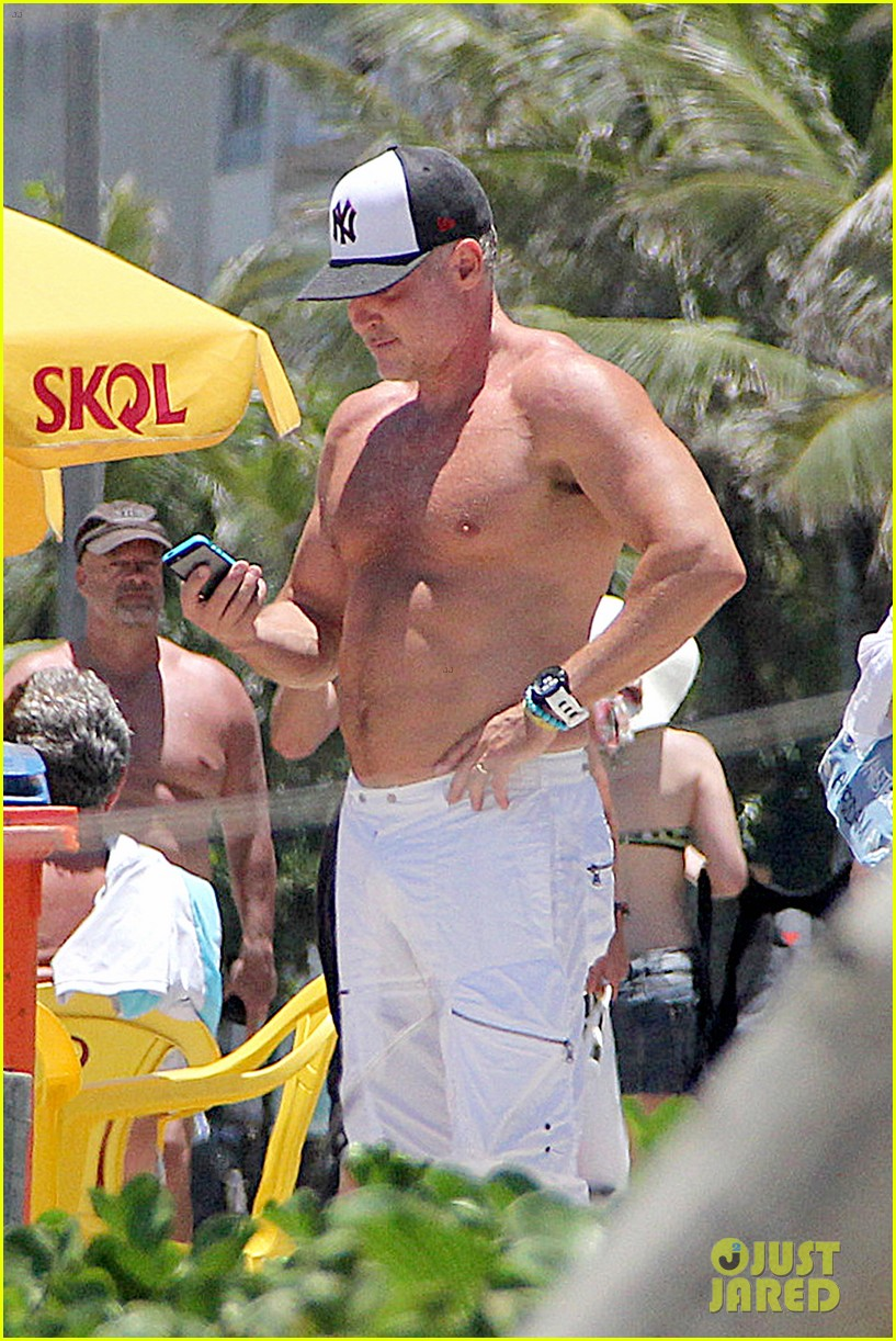 gma sam champion continues shirtless honeymoon 182997449