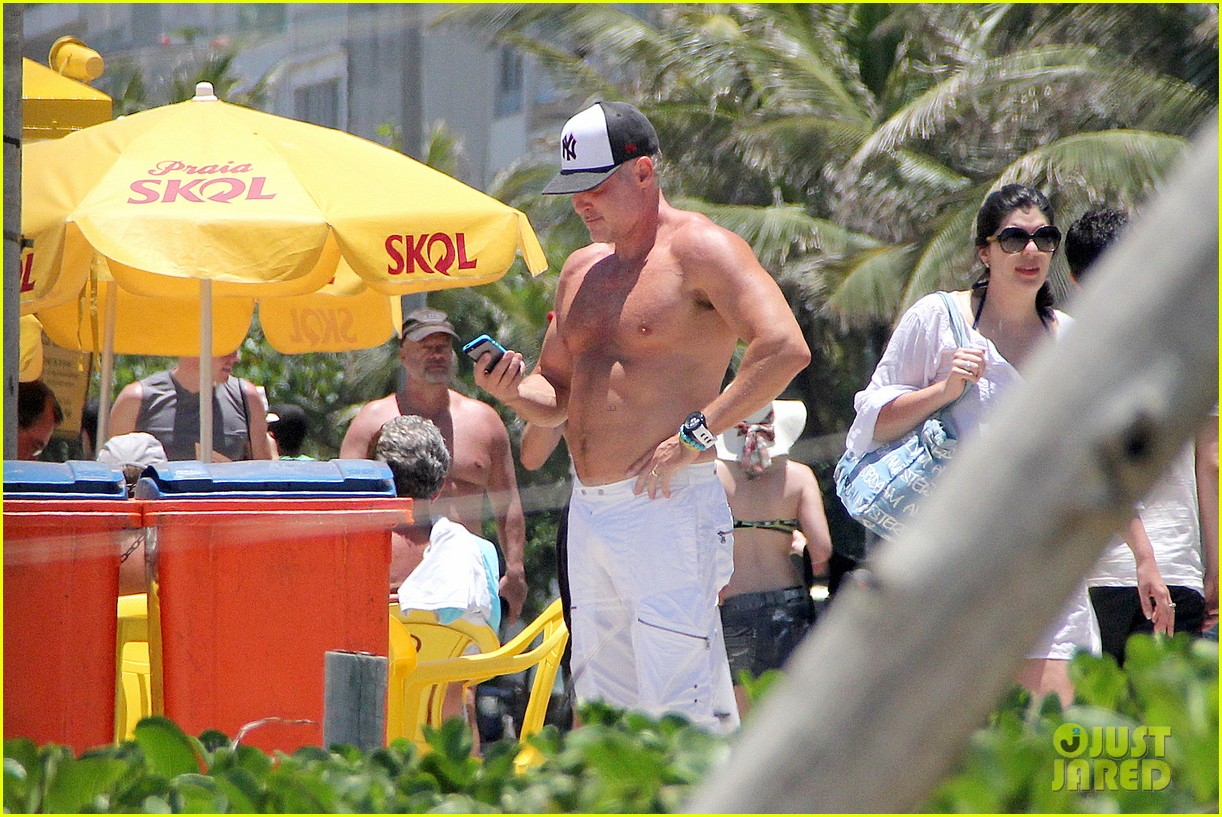 gma sam champion continues shirtless honeymoon 272997458