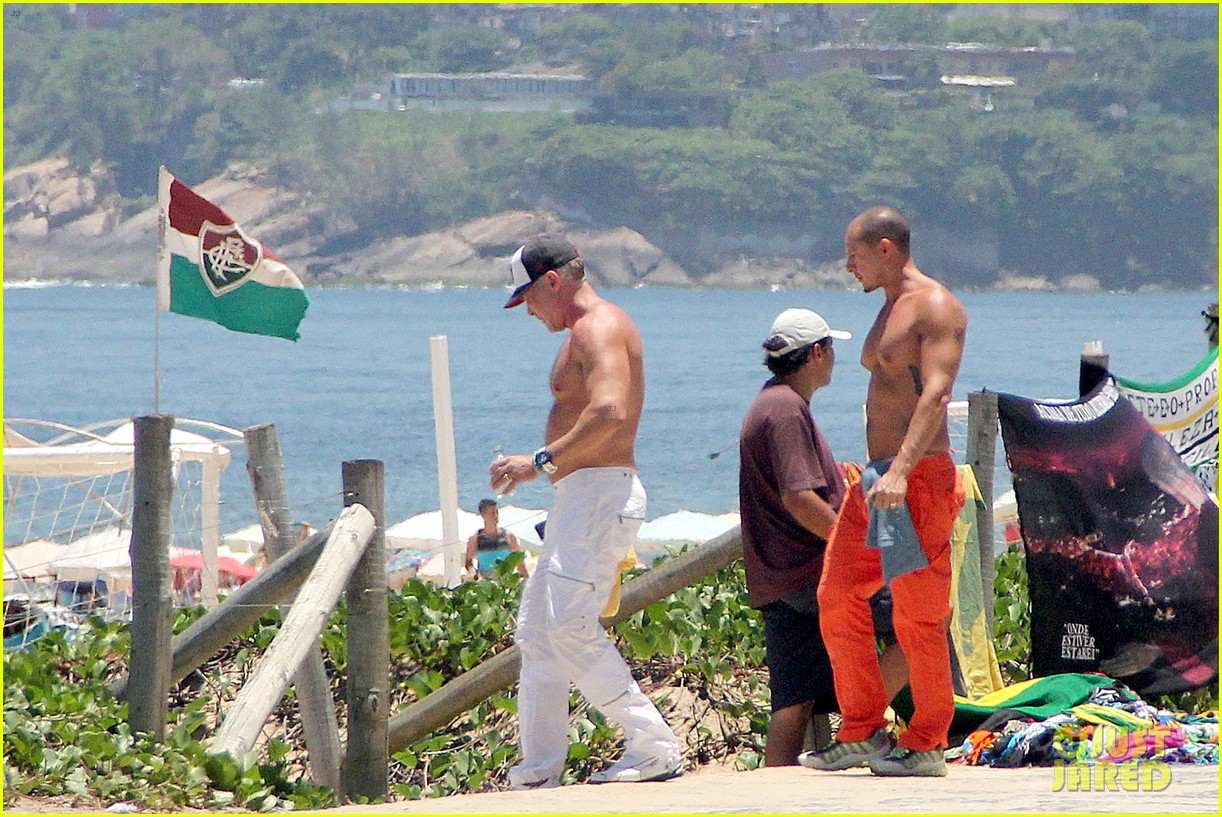 gma sam champion continues shirtless honeymoon 302997461