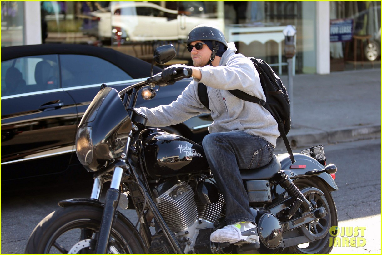 charlie hunnam west hollywood motorcycle man 082985616