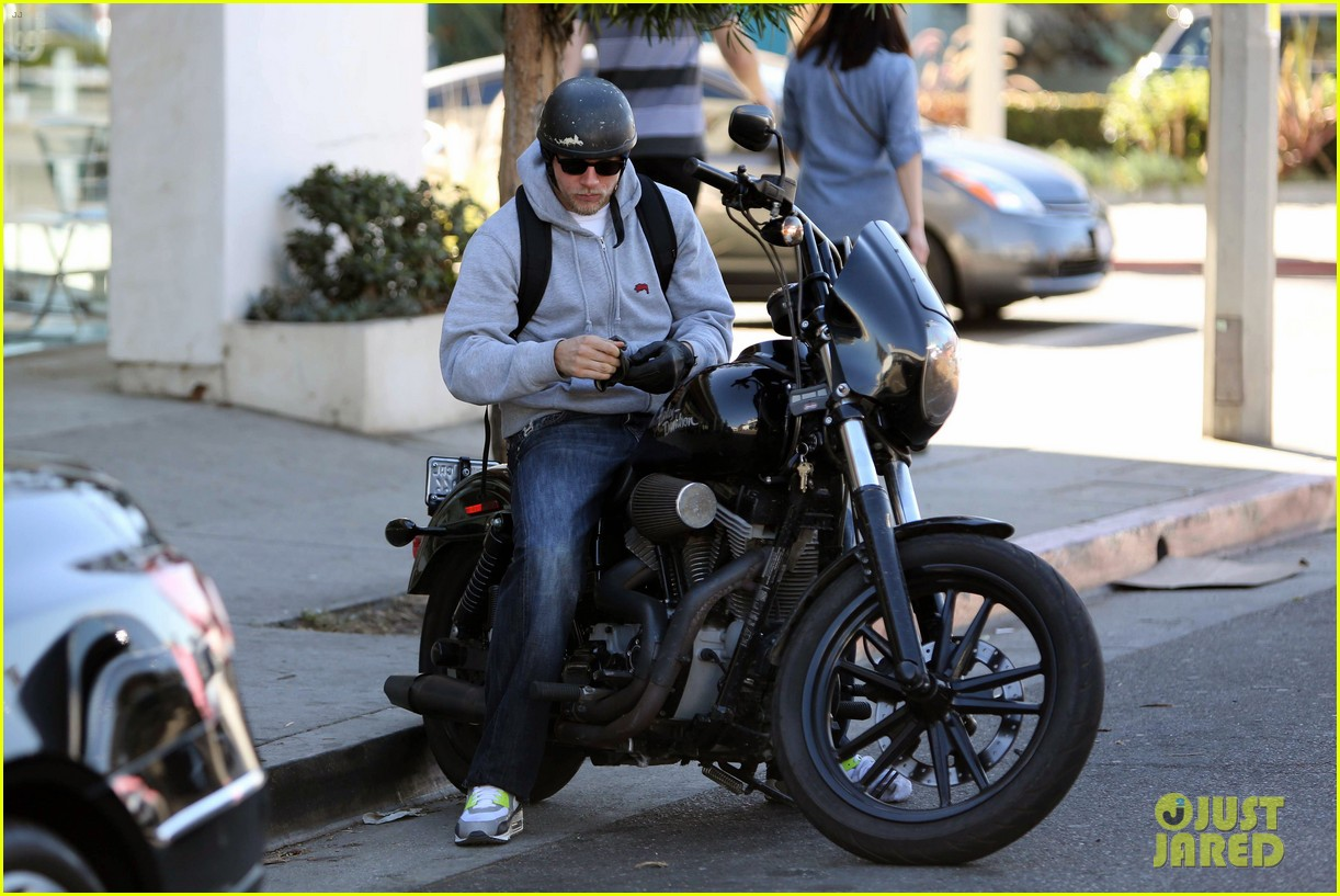 charlie hunnam west hollywood motorcycle man 12
