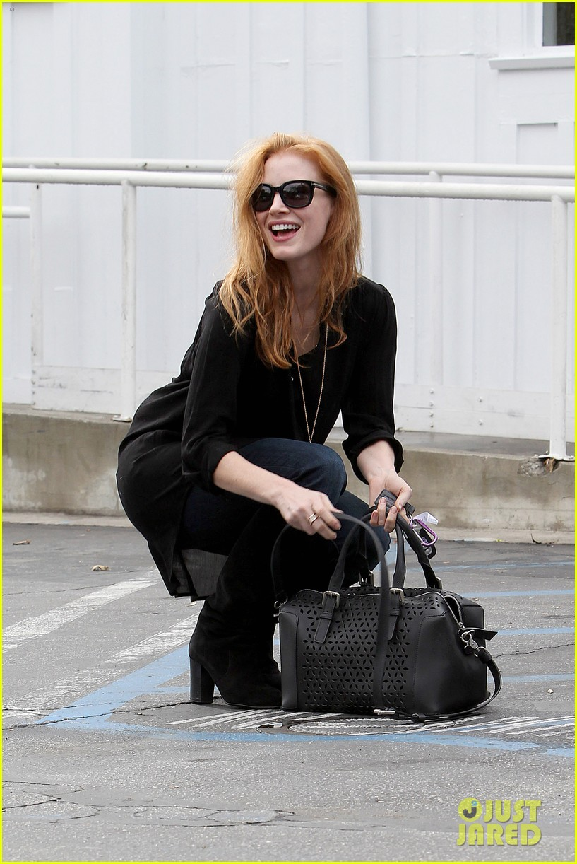 jessica chastain scripted content film for vogue watch now 102997471