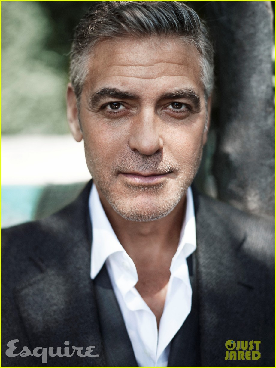 george clooney talks fame twitter brad pitt with esquire 012990308