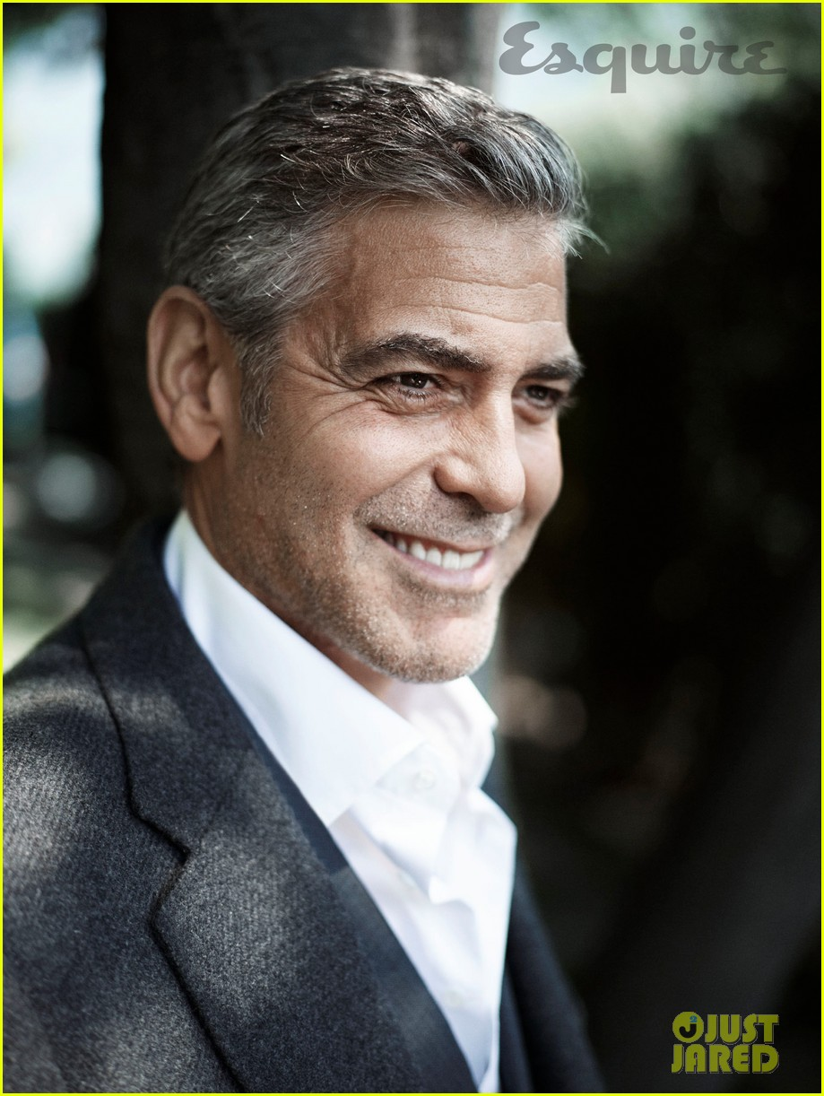 george clooney talks fame twitter brad pitt with esquire 032990310