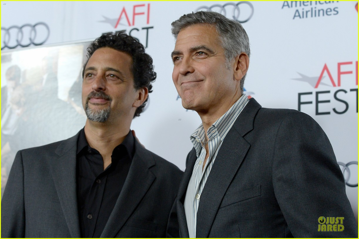 george clooney juliette lewis august hollywood premiere 052988795