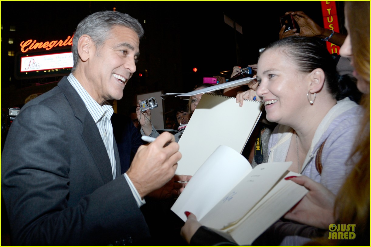 george clooney juliette lewis august hollywood premiere 222988812