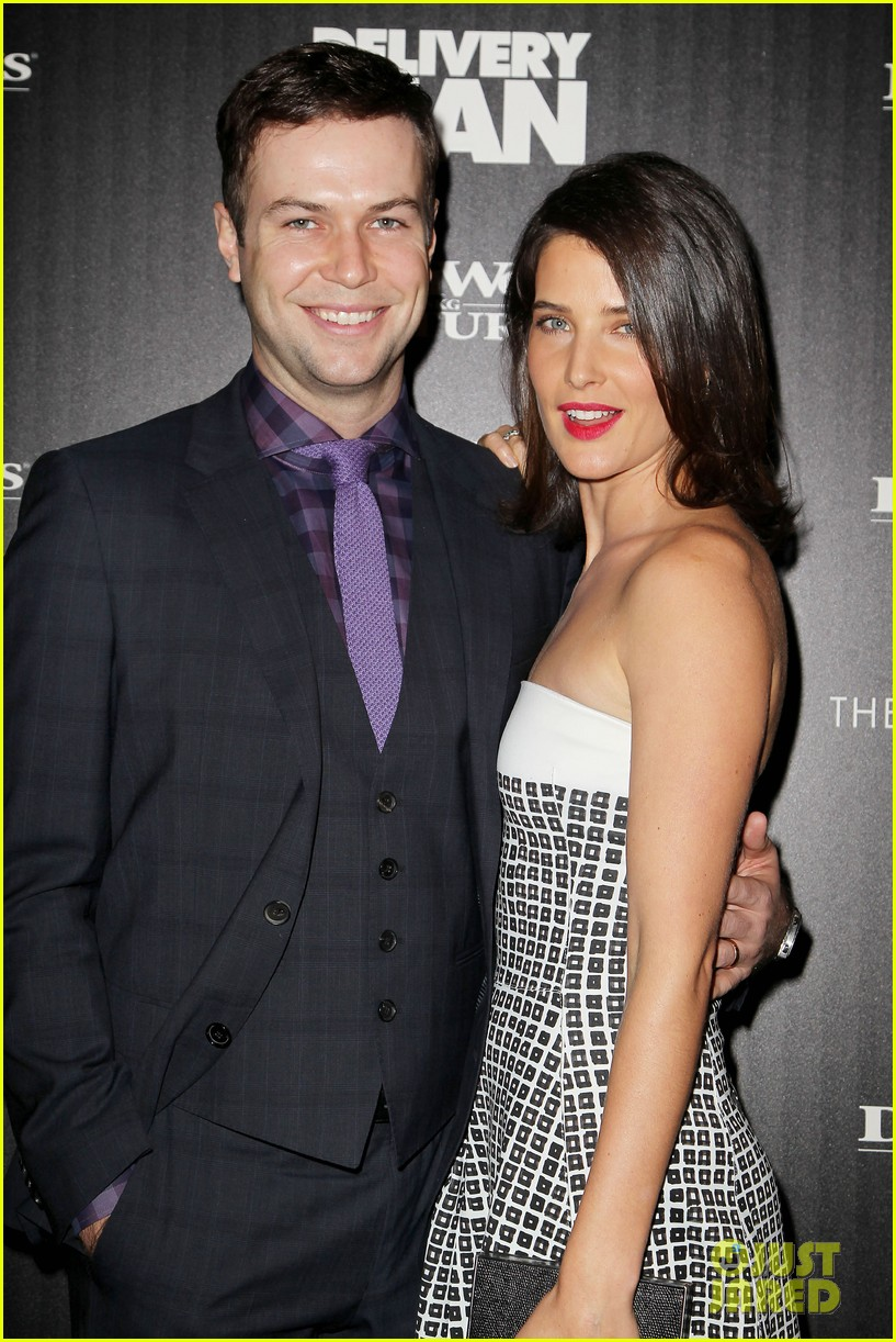 cobie smulders delivery man premiere with vince vaughn 172995146