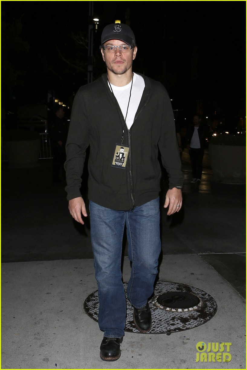 matt damon lily collins justin timberlake 2020 concert guests 013001176
