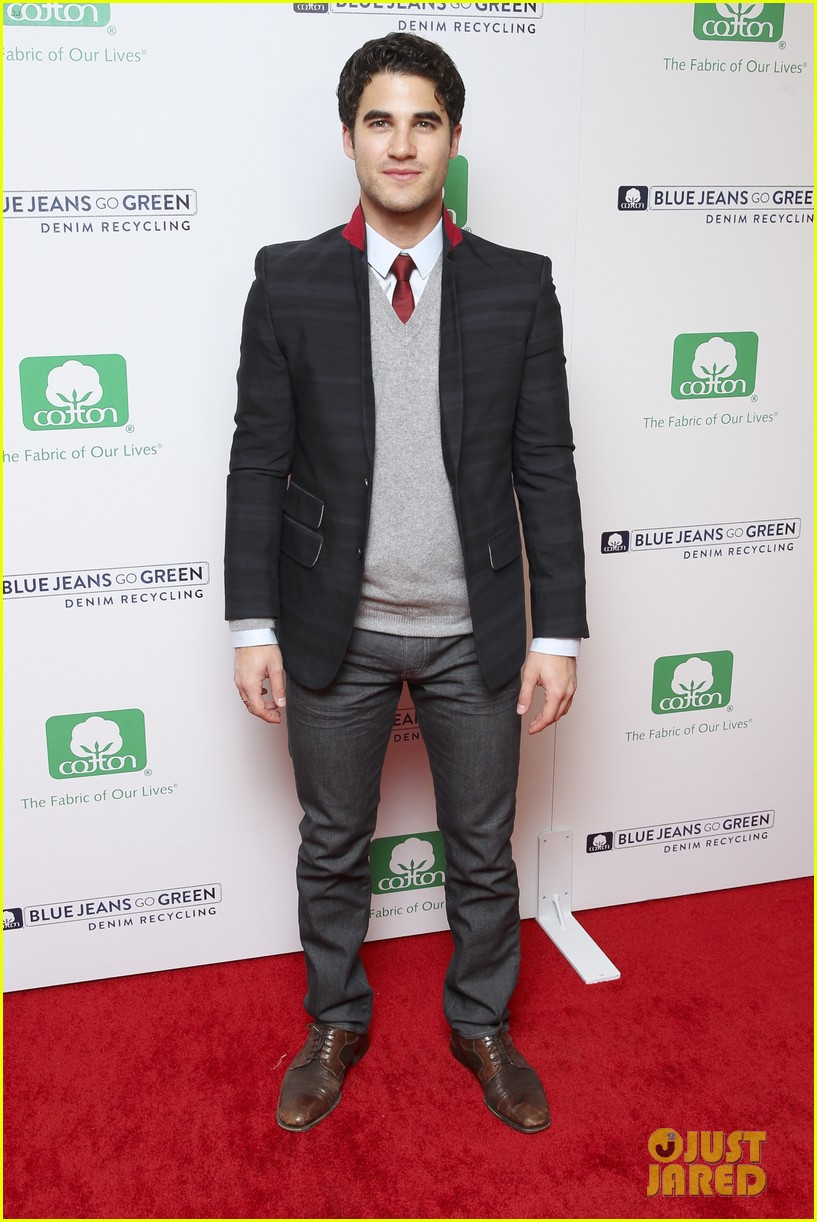 darren criss michael b jordan blue jeans go green party 042987386