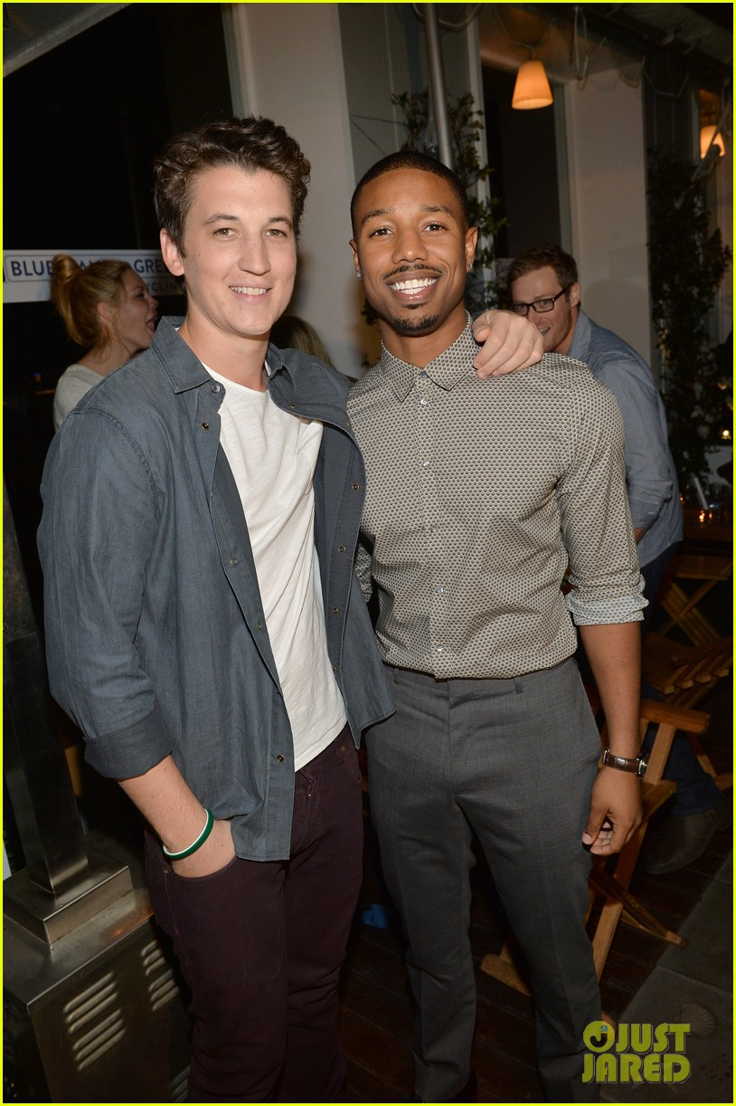 darren criss michael b jordan blue jeans go green party 282987410