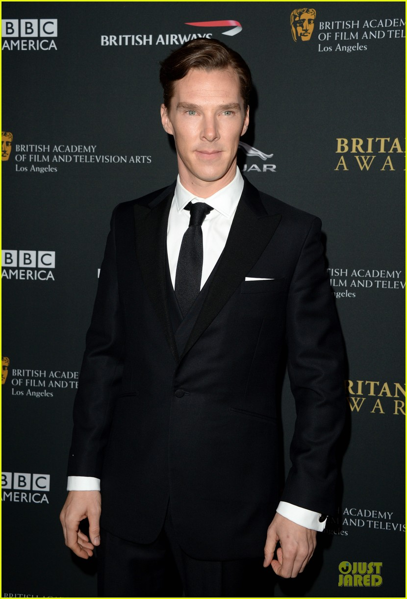 benedict cumberbatch alice eve bafta britanna awards 2013 red carpet 02