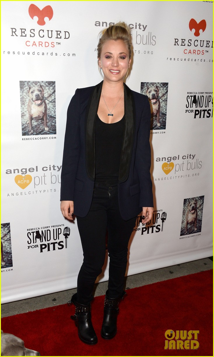kaley cuoco ryan sweeting stand up for pits 082985951