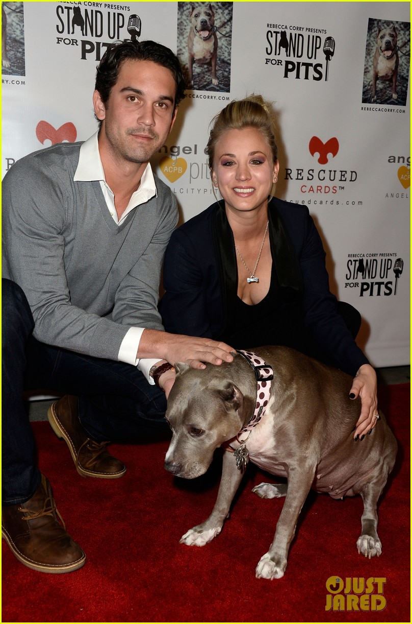 kaley cuoco ryan sweeting stand up for pits 132985956