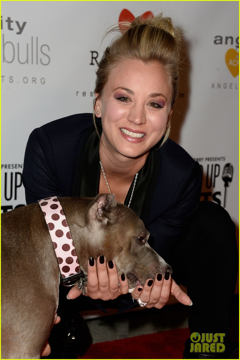 kaley cuoco ryan sweeting stand up for pits 152985958