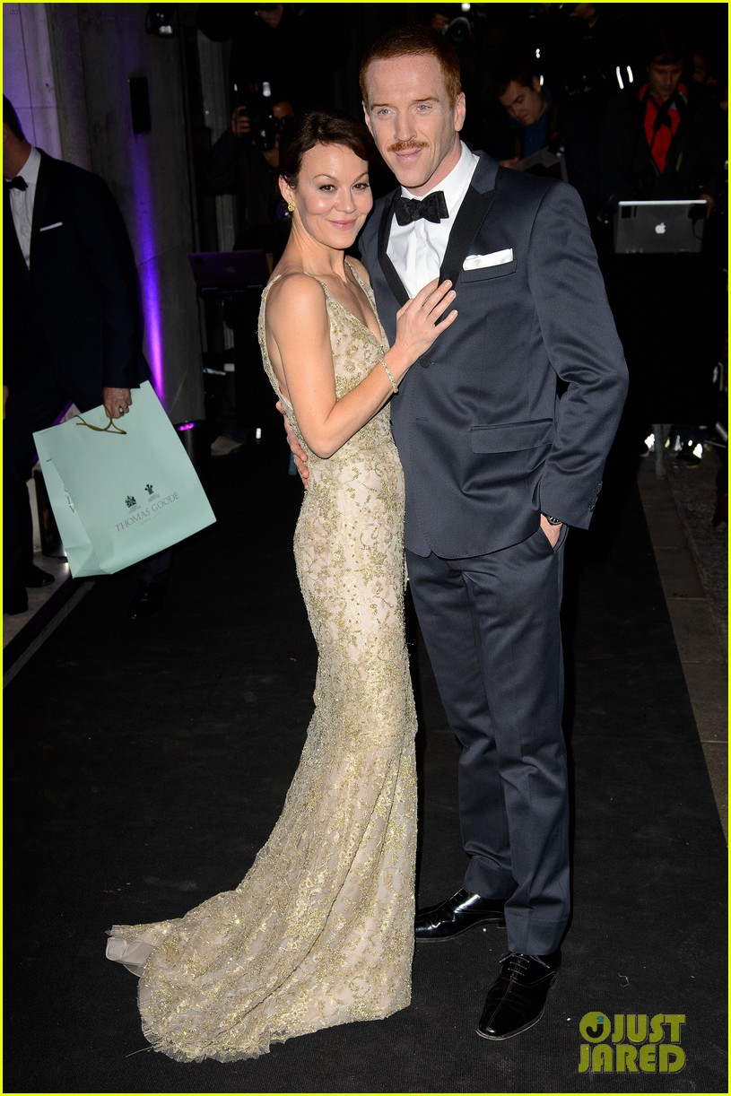 damian lewis maggie smith evening standard theatre awards 2013 022994926