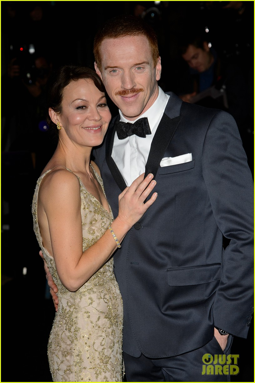 damian lewis maggie smith evening standard theatre awards 2013 06