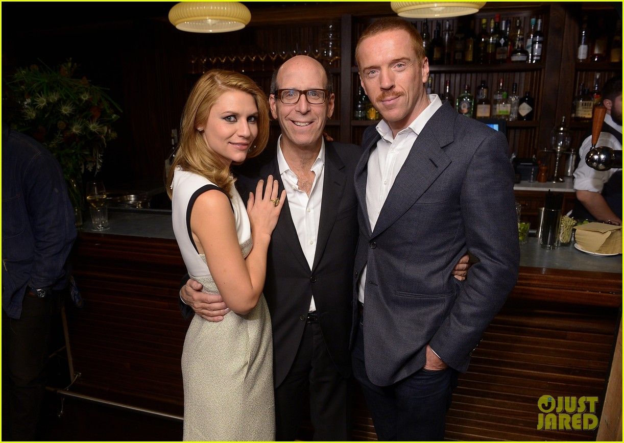 claire danes damian lewis homeland nyc screening 022993185