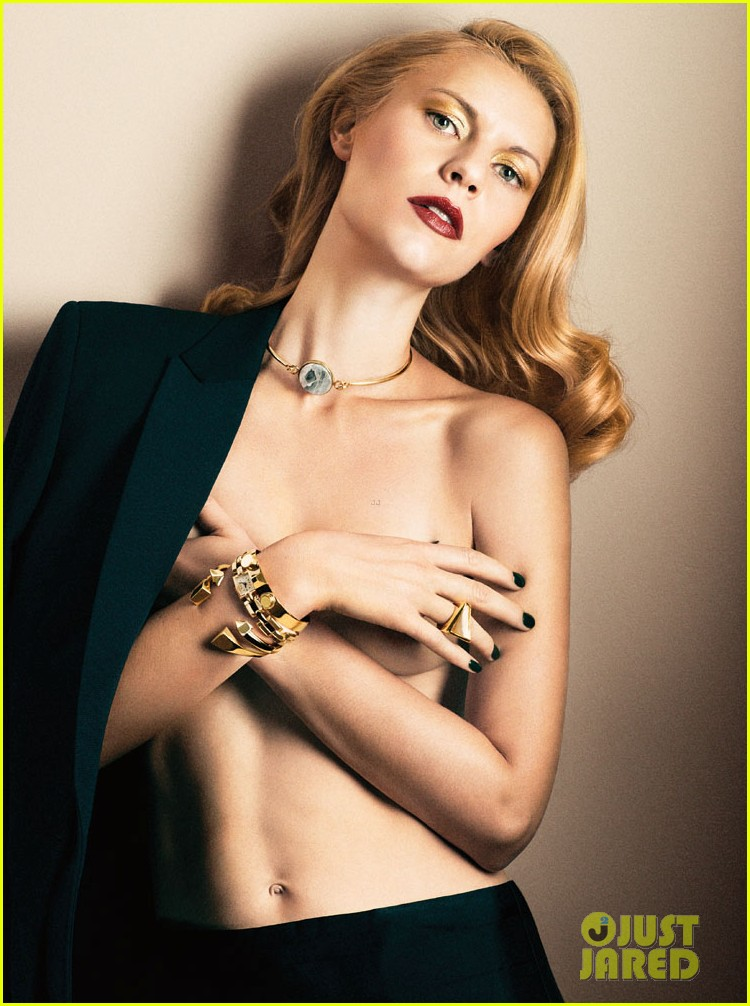claire danes poses topless for interviews latest issue 022986005