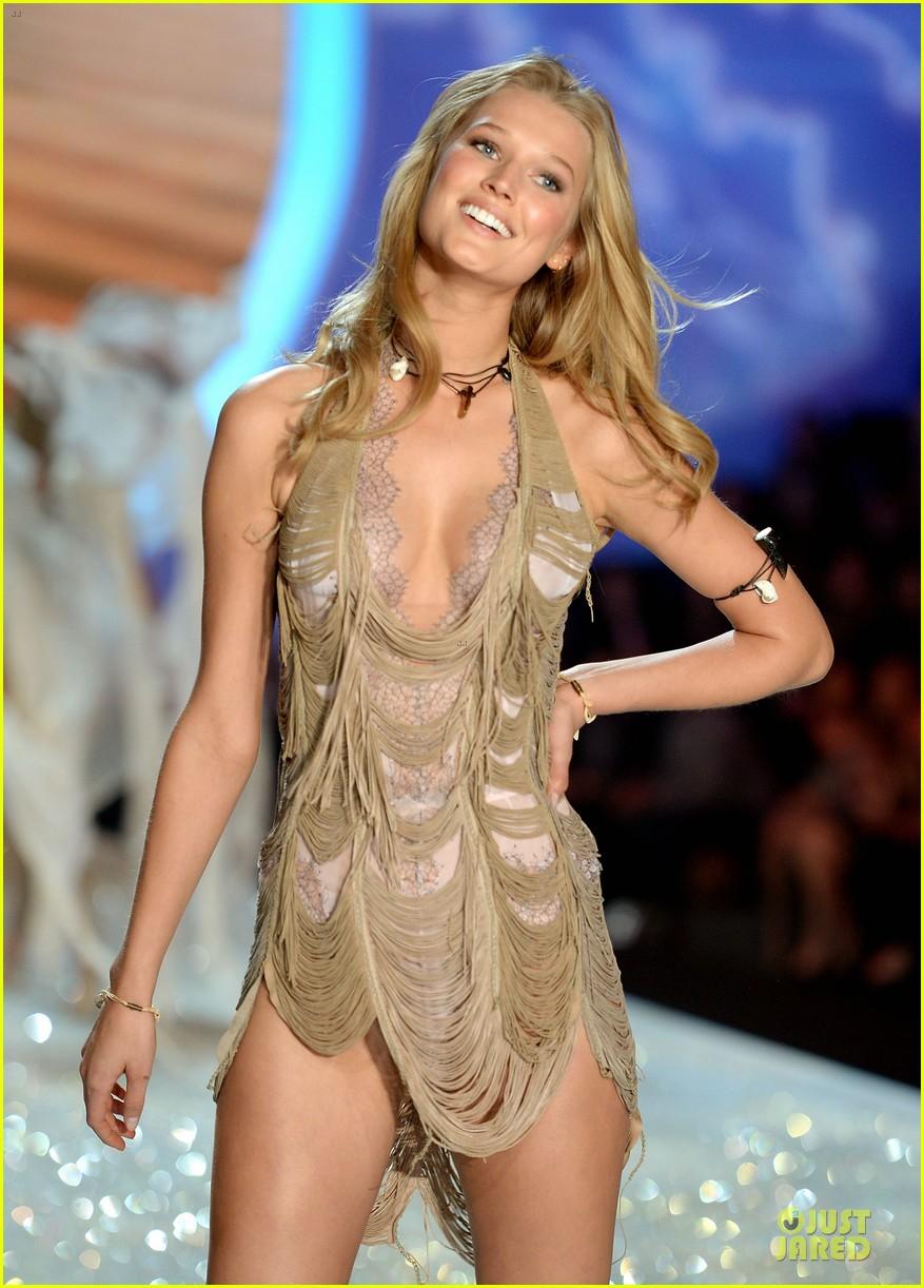cara delevingne toni garrn victorias secret fashion show 2013 14