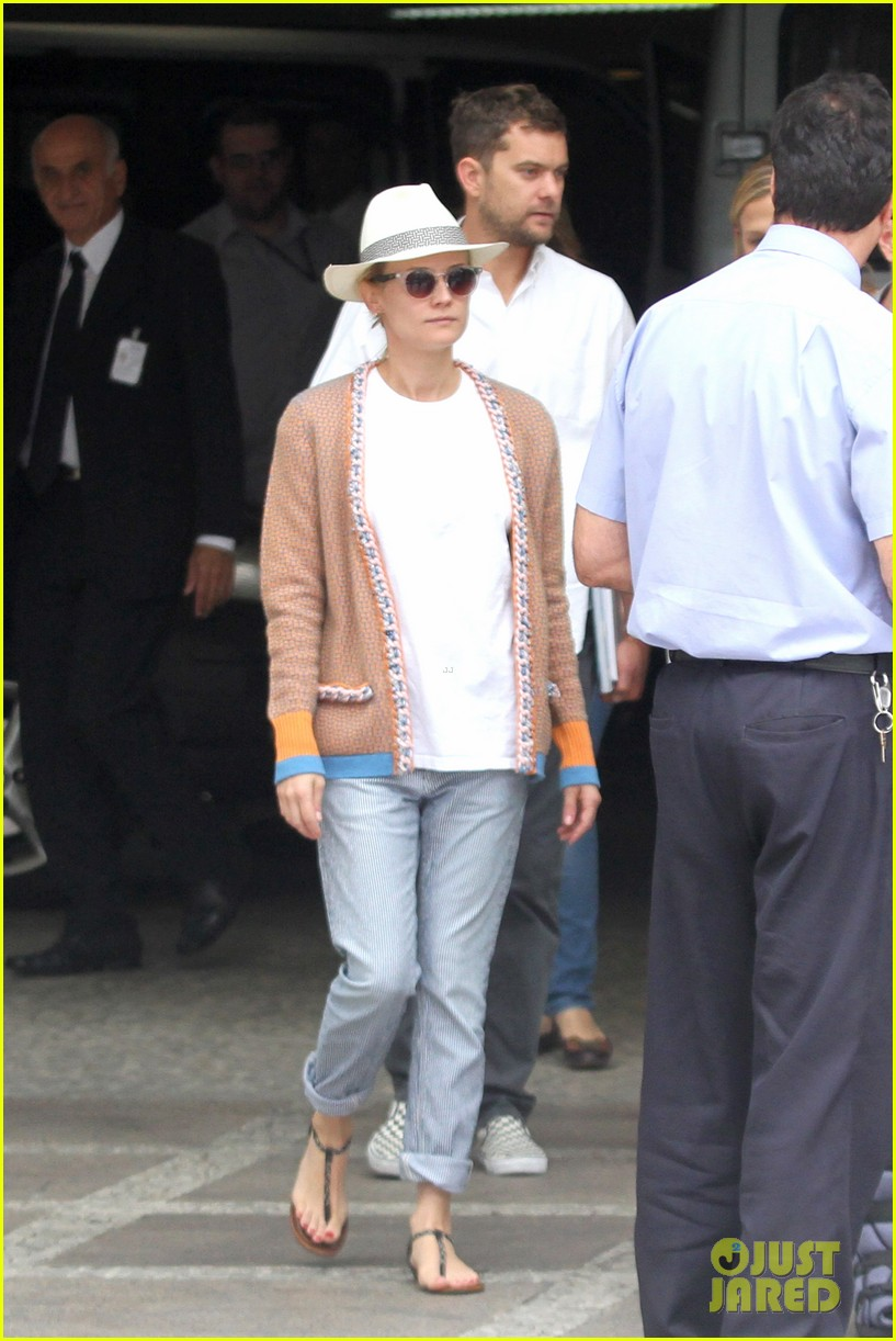 diane kruger joshua jackson lunch with pals in rio 08